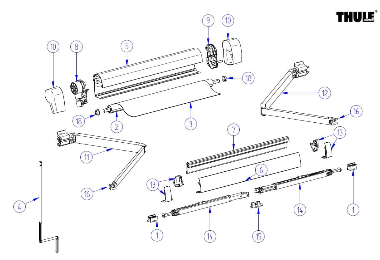 dometic awning parts diagram australia phone line wiring replacement related keywords