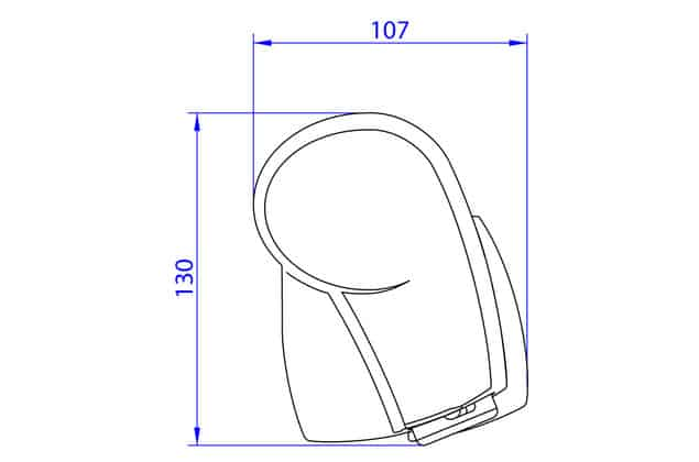 Thule Omnistor 5102 Full Roll-Out Awning (for use VW T5 T6