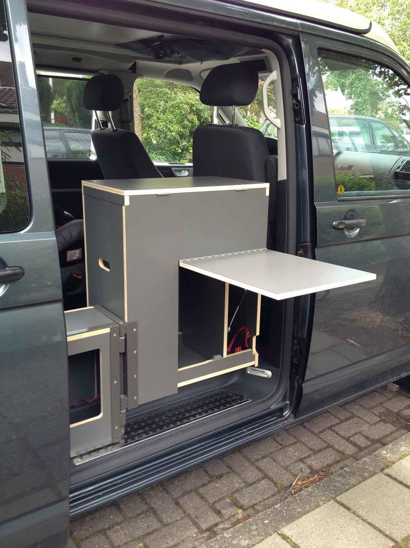 Volkswagen Transporter T5 naar Camper  vwcampersite