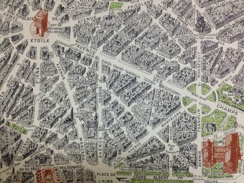 map, Paris