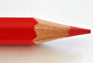 red pencil, grammar, comma