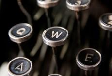 typewriter, writing