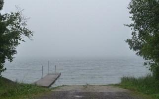 lake, dock