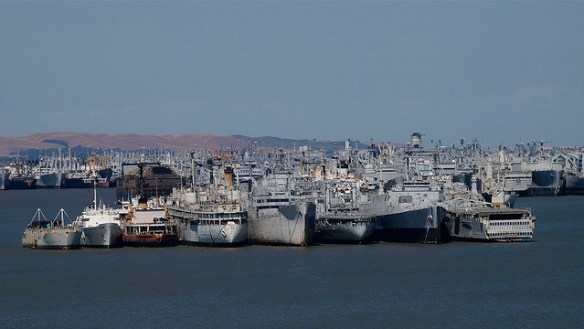 navy ships, ghost fleet