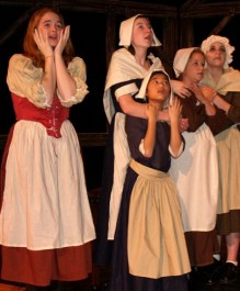 Puritans, Salem witch trials, The Crucible