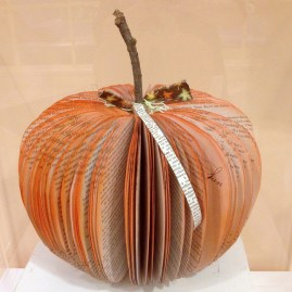 pumpkin, book art