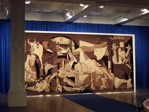 Guernica, tapestry, Picasso
