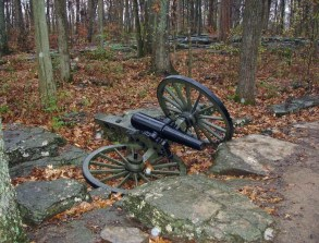 Civil War, battlefield, cannon