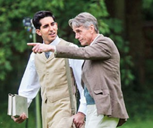 Dev Patel, Jeremy Irons, The Man Who Knew Infinity