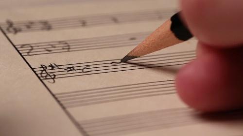 Score, music