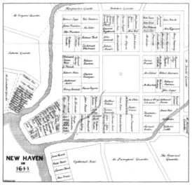 map, New Haven