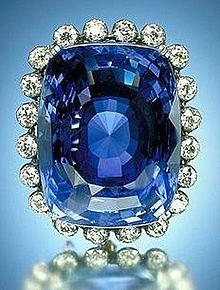 gemstone, sapphire