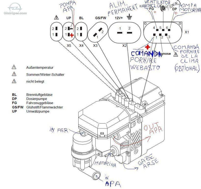 Rover 75 Webasto Wiring Diagram Diagram Base Website