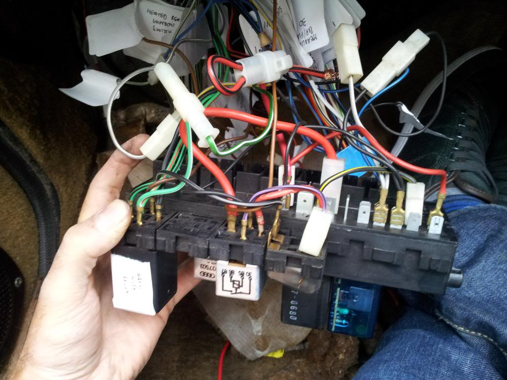 hight resolution of mk1 golf fuse box for sale wiring library volkswagen golf mk1 and the relay on the