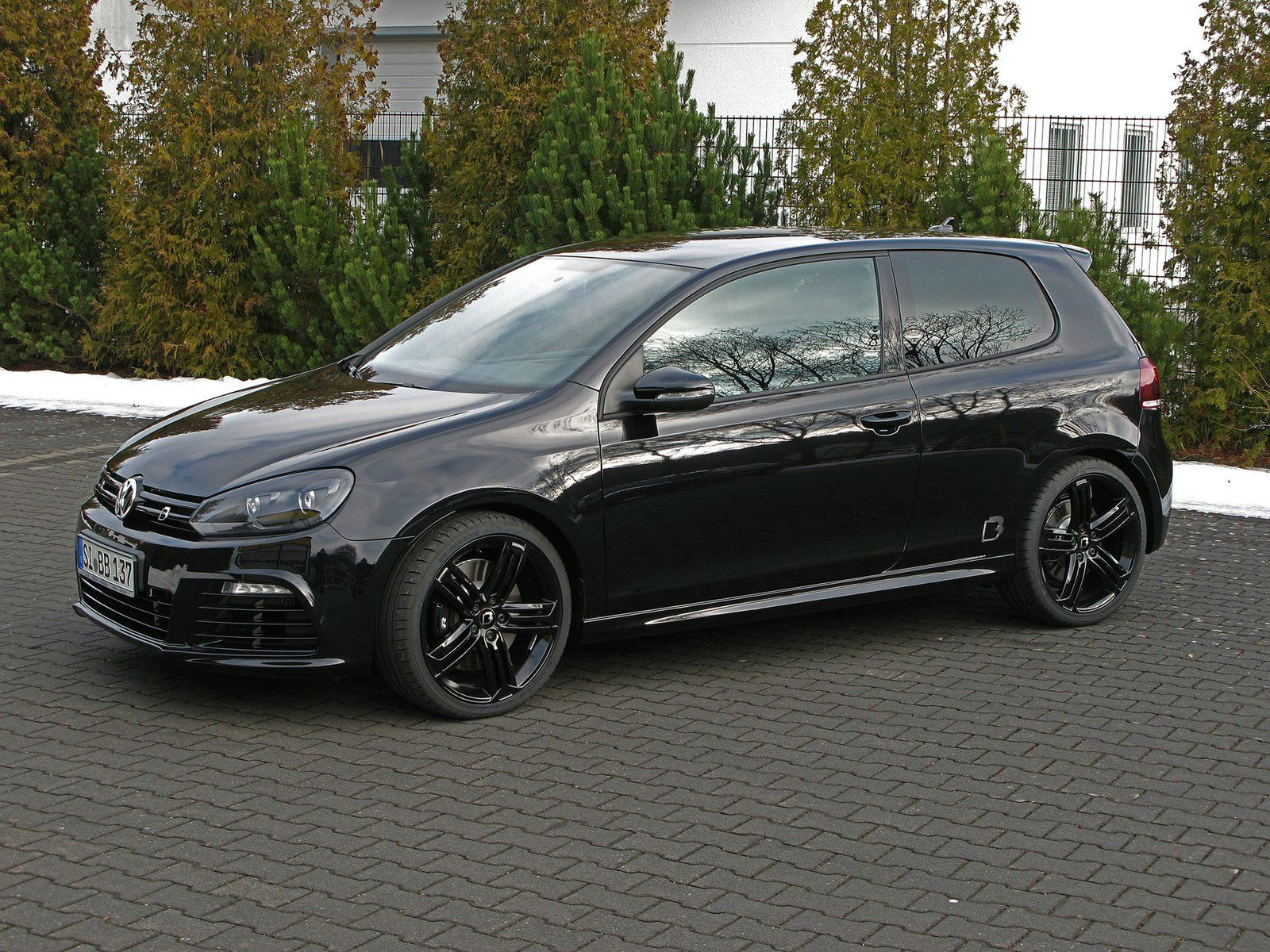 hight resolution of vw golf r tuned by b b
