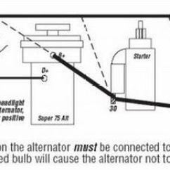 Vw Alternator Conversion Wiring Diagram Mercruiser 5 7 Ledningsnet Til Generator « Vwnettet