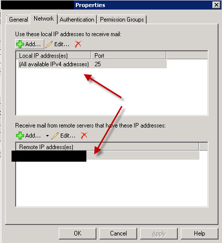 """SMTP error message """"550 5 7 1 Unable to relay"""" – vWorld nl"""