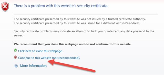 HP MSA Webinterface not working (solved) – vWorld nl