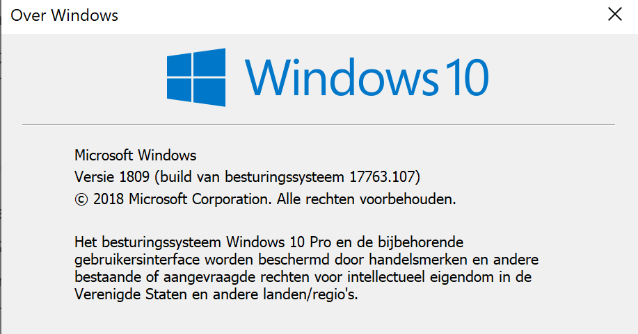How to force the Windows 10 1809 Update – vWorld nl
