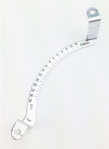 Aluminum Timing Scale, Type 4 Engines, 021-119-249E
