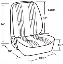 Scat Procar Pro-90 Low Back VW Interior Kit, for Karmann