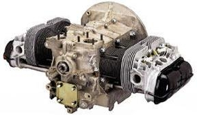 AircooledNet Dual Port Mini Stroker VW Engine Long Block, 74mm Counterweighted Crankshaft, Type