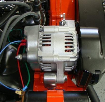 4 Wire Alternator Wiring Diagram 12v Alternator Kit 55 Amp Alternator Type 3 Engines