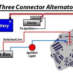 Wiring Diagram Of A Car Alternator 6 Wire Toggle Switch 12v Kit, 55 Amp Alternator, Type 3 Engines (squareback, Fastback, Notchback ...