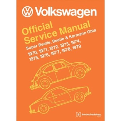 Free Download Wiring Diagrams Bentley Manual Vw Official Service Manual 1970 79 Beetle