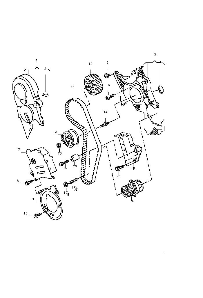 038198119 , PDTDI vezérlés készlet , pdtdi vezérlés szett