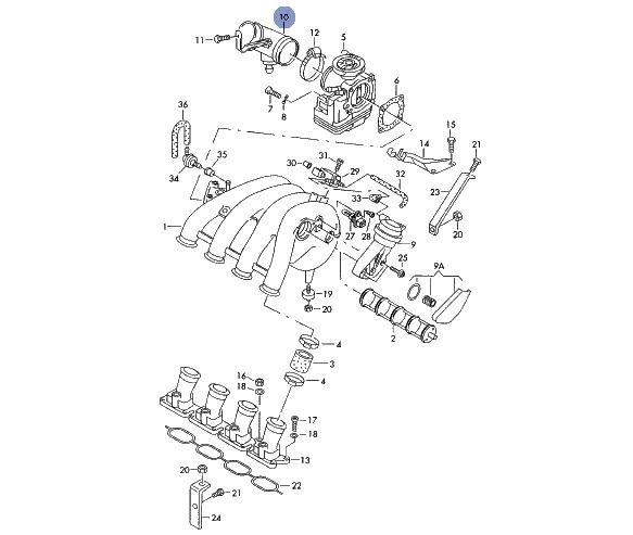 058133356d , 058 133 356 D , 113416 TOPRAN , VW Passat B5