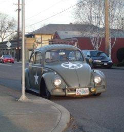 1960 volkswagen beetle lowered and custom painted  [ 2048 x 1536 Pixel ]