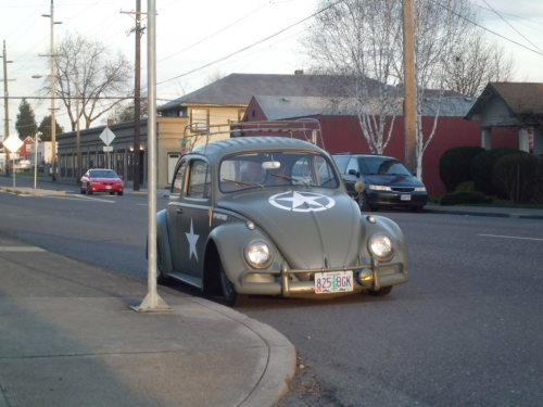 small resolution of 1960 volkswagen beetle lowered and custom painted