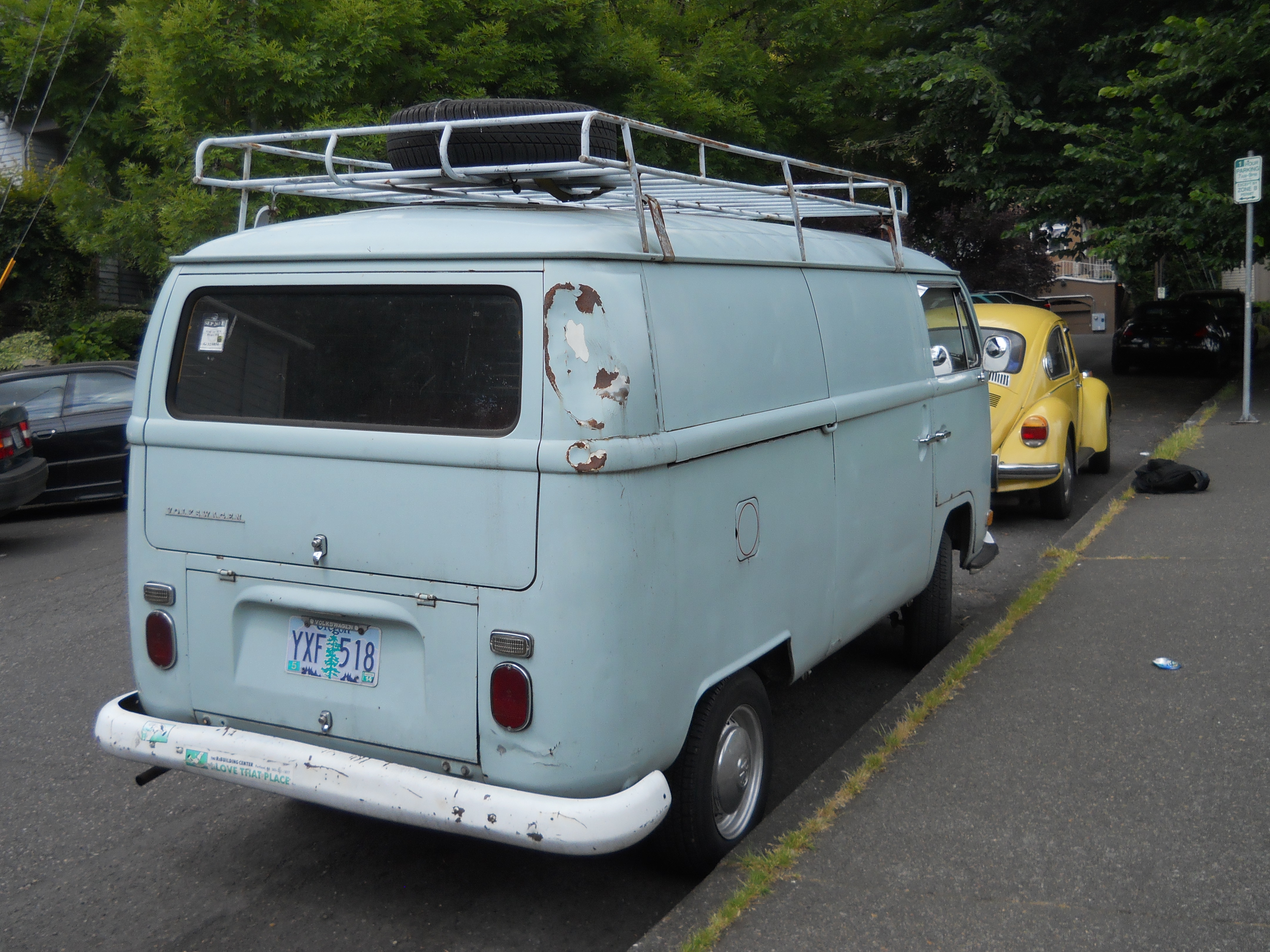 Roof Rack VWs In Portland