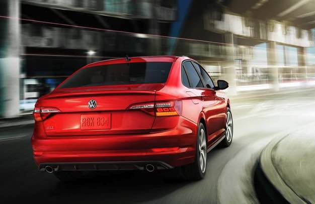 2022 volkswagen jetta which is slightly below average for the base price of a compact car