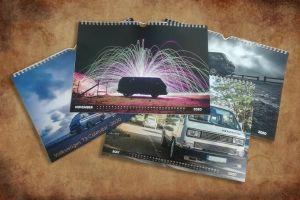 Vw T3 Calendar 2020