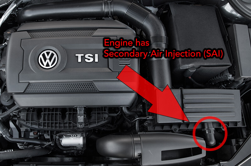 Volkswagen Secondary Air Injection System Jetta