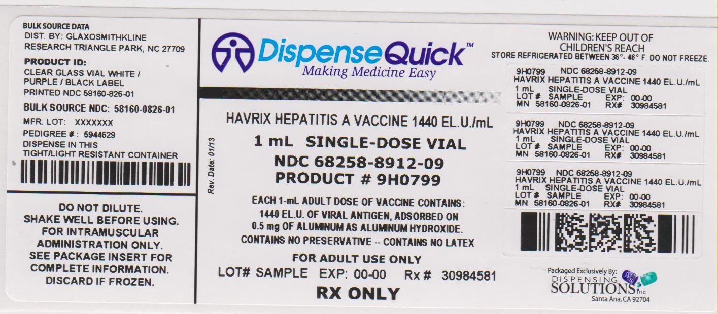 HAVRIX: Vaccine Information from the FDA via VxLabels.com ...