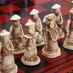 Wooden Kitchen Clock Lighting Fixtures Vintage Chinese Collectible Chess Set - Vxotic ...