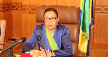 Lucie MILEBOU AUBUSSON réélue pour un second mandat à la tête du Sénat gabonais !
