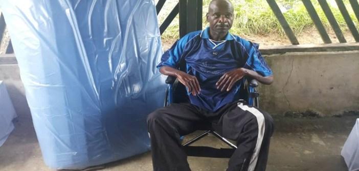 Franceville: élan de solidarité des auditeurs de Radio Gabon envers un paralysé