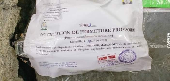 Libreville: l'AGASA ferme 2 chambres froides pour vente de produits avariés