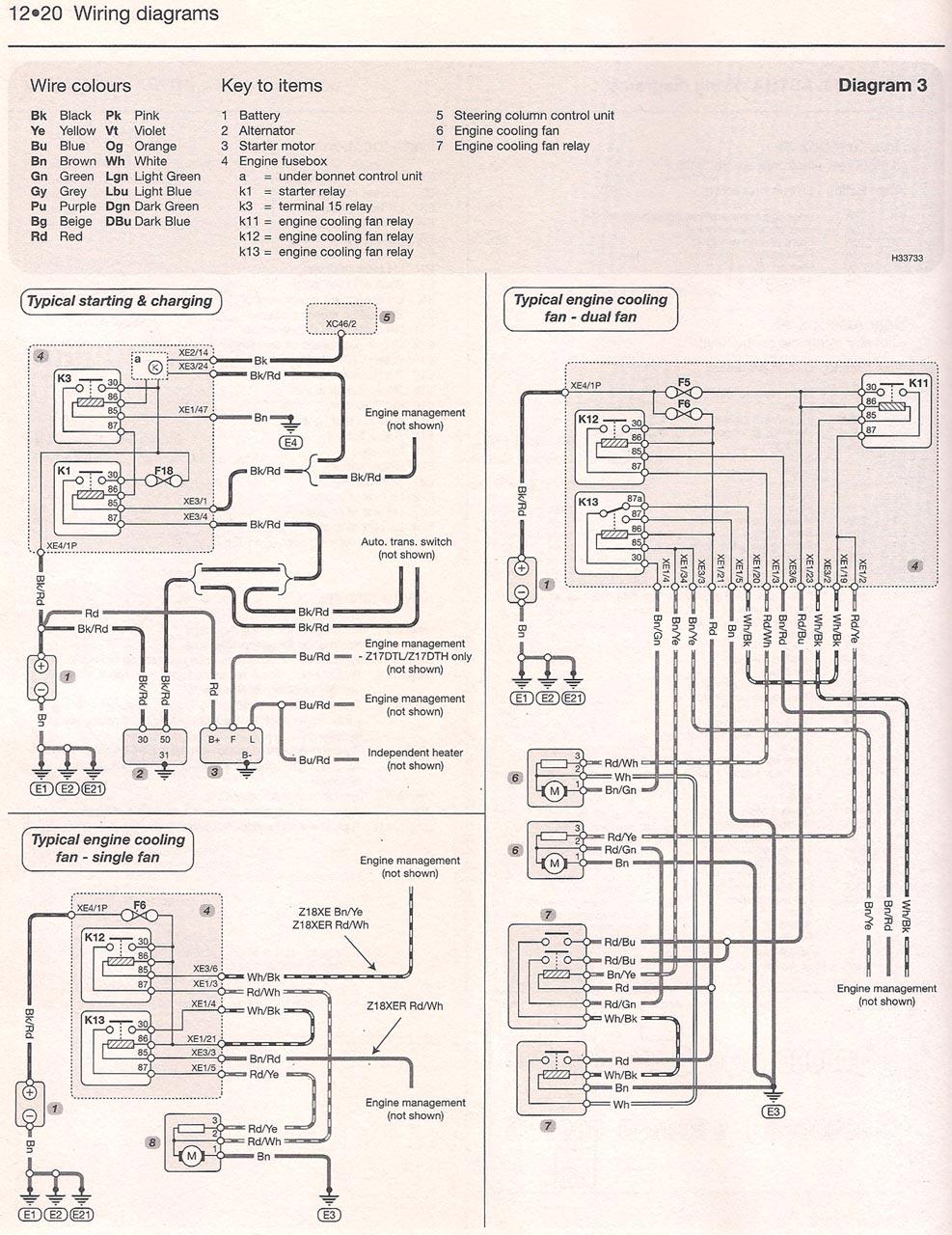 vauxhall corsa c radio wiring diagram alfa 156 astra h / vxr