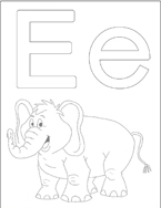 color the page, color the letter, coloring worksheets