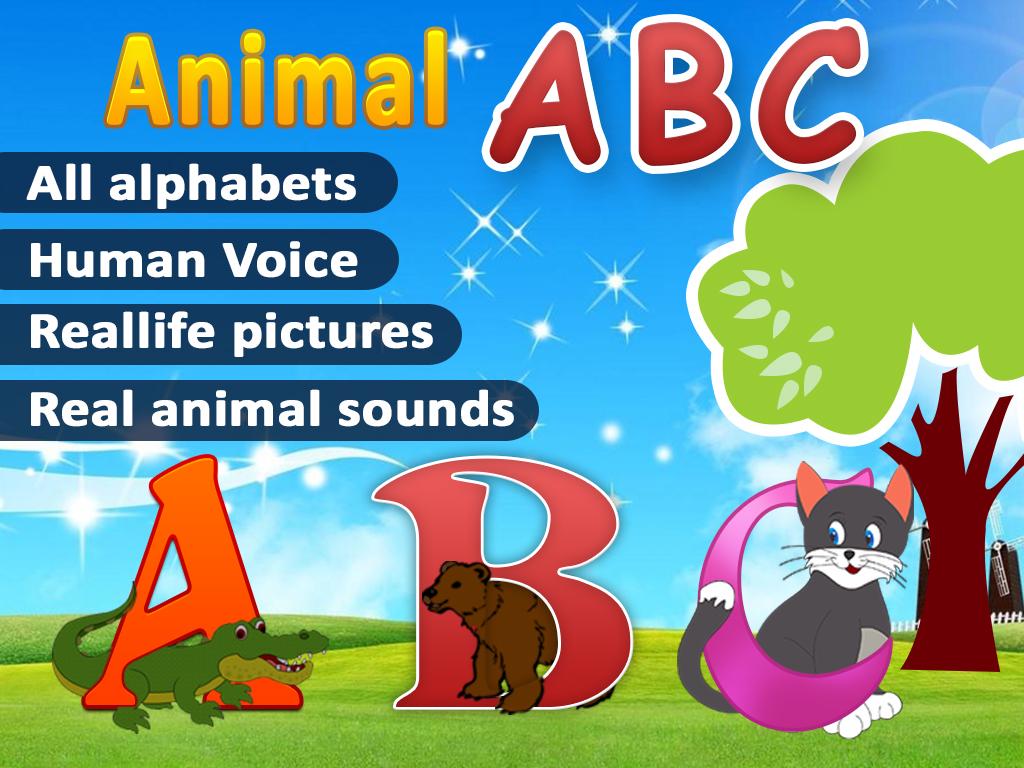 Animal Abc English Alphabet Learn Alphabets Abc For