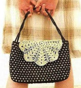 модель сумки крючком