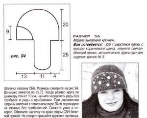 шапка-ушанка описание