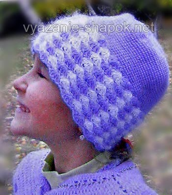 шапка для девочки 5 лет