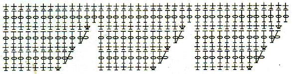 Вязаная панама - схема 7