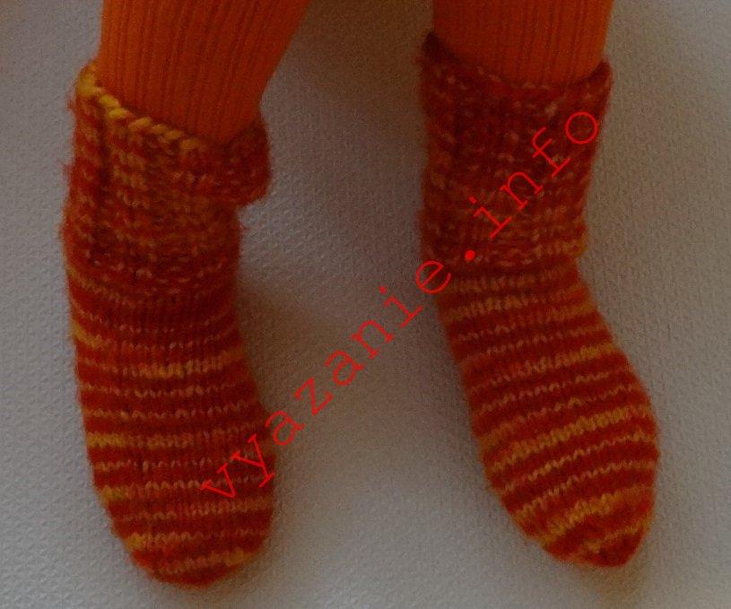 Slik knytter du sokker med strikking. Barn